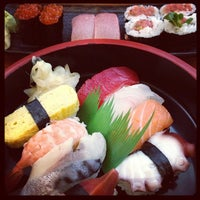 Photo taken at Hide Sushi by Stephanie C. on 4/30/2013