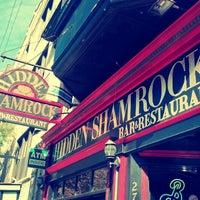 Photo taken at Hidden Shamrock by Ramiro M. on 9/29/2012