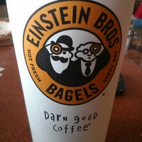 Photo taken at Einstein Bros Bagels by high.co on 6/9/2013