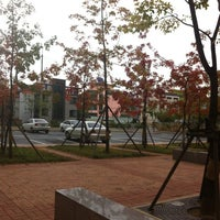 Photo taken at Kyungpook National University by Agnes L. on 10/17/2012