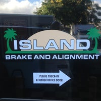 Photo taken at Island Brake & Alignment by Nico on 10/19/2012
