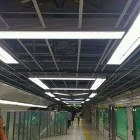 Photo taken at Midosuji Line Hommachi Station (M18) by Kiyoteru A. on 10/6/2012