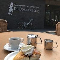 Photo taken at Panoramarestaurant De Bokkerijder by Eddy K. on 3/30/2017