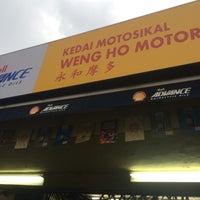 Photo taken at Kedai Motosikal Hweng Ho Motor by Nasharuddin K. on 10/27/2016