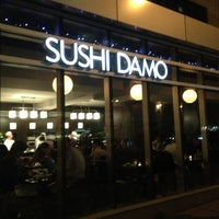 Photo taken at Sushi Damo by Mark R. on 3/21/2013