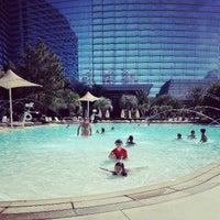 Photo taken at ARIA Pool & Cabanas by Markus S. on 4/23/2013