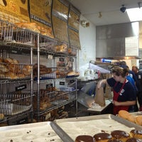 Photo taken at New York Bagel & Deli by lindsey c. on 3/10/2013