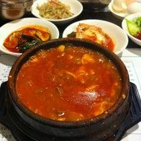 Photo taken at Cho Dang Tofu & BBQ by John L. on 10/12/2012