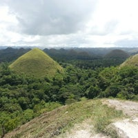 Photo taken at The Chocolate Hills by Aebbey on 11/6/2012