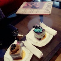 Photo taken at Coklat Cafe by Farahdiba R. on 1/31/2013