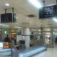 Photo taken at JR Narita Airport (Terminal 1) Station by North-Hassaku O. on 6/27/2015
