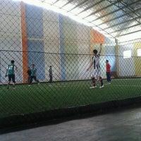 Photo taken at Futsal 1818 Ceria by Aliy N. on 1/1/2013