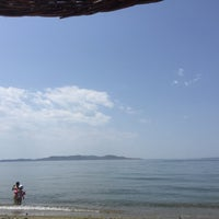 Photo taken at güneş beach by Gülben on 6/16/2015