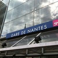 Photo taken at Nantes Railway Station by Romain B. on 4/19/2013