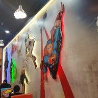 Photo taken at DC Comics Super Heroes by Velvet R. on 7/18/2017