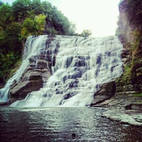 Photo taken at Ithaca Falls by Kevin R. on 9/23/2012