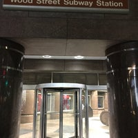 Photo taken at Port Authority Wood Street Station by WEA Jr. on 7/17/2017