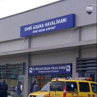 Photo taken at Adana Airport (ADA) by Özbek on 12/22/2012