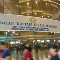 Photo taken at Sultan Iskandar CIQ Complex (Johor Bahru Checkpoint) by ® on 6/4/2014