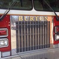 Photo taken at Burton Volunteer Fire Department by Alyssa F. on 4/7/2014