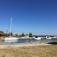 Photo taken at Barrie Waterfront by Kemal on 7/23/2016