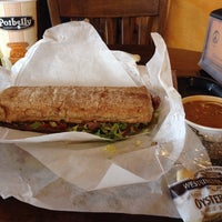 Photo taken at Potbelly Sandwich Shop by Cycling P. on 2/13/2014