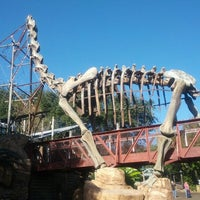 Photo taken at DinoLand U.S.A. by takaki k. on 12/2/2012