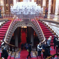 Photo taken at Dolmabahçe Palace by Marina T. on 1/2/2013