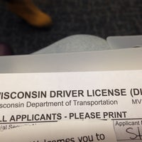 Photo taken at Wisconsin Division of Motor Vehicles (DMV) by Stephanie L. on 10/9/2013