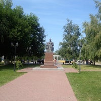 Photo taken at Памятник Екатерине II by Giv U. on 8/18/2013