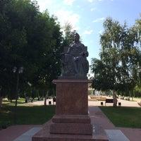 Photo taken at Памятник Екатерине II by Giv U. on 9/24/2017