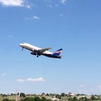 Photo taken at ВПП аэропорта Саратова by Giv U. on 6/27/2018