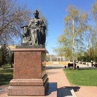 Photo taken at Памятник Екатерине II by Giv U. on 5/2/2018