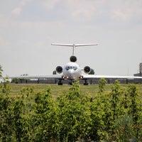 Photo taken at ВПП аэропорта Саратова by Giv U. on 7/13/2016