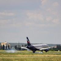 Photo taken at ВПП аэропорта Саратова by Giv U. on 7/20/2016