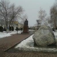 Photo taken at Памятник Екатерине II by Giv U. on 3/17/2013
