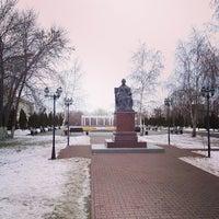 Photo taken at Памятник Екатерине II by Giv U. on 1/2/2014