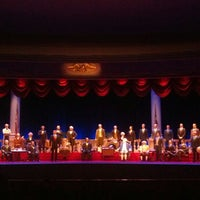 Photo taken at The Hall Of Presidents by Audrey on 5/23/2013