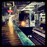 Photo taken at CTA - Halsted by James on 10/24/2012