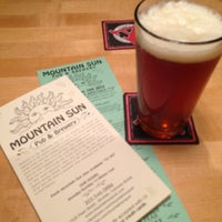 Photo taken at Mountain Sun Pub & Brewery by Claus on 6/14/2013