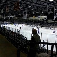 Photo taken at Schneider Arena by Chris M. on 3/9/2013