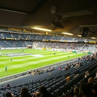 Photo taken at Friends Arena by Christian R. on 4/28/2013
