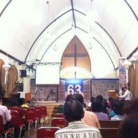 Photo taken at Gereja GPMII by Grace F. on 8/19/2013
