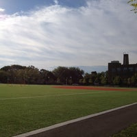 Photo taken at South Shore HS Track by Joseph on 9/12/2013