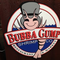Photo taken at Bubba Gump Shrimp Co. by meshary A. on 5/12/2013