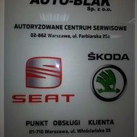 Photo taken at Auto-Blak Sp. z o. o. by Bartłomiej F. on 12/27/2012