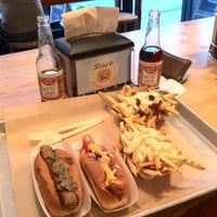 Photo taken at Bark Hot Dogs by Robert G. on 9/19/2012