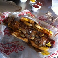 Photo taken at Portillo's Hot Dogs by Victor W. on 3/29/2013