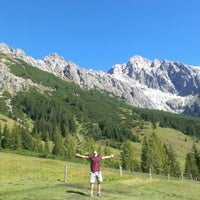 Photo taken at Maria Alm by Carlos R. on 9/25/2012