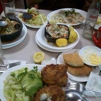 Photo taken at Restaurant Marisquería Marcoa by Cony A. on 11/1/2012